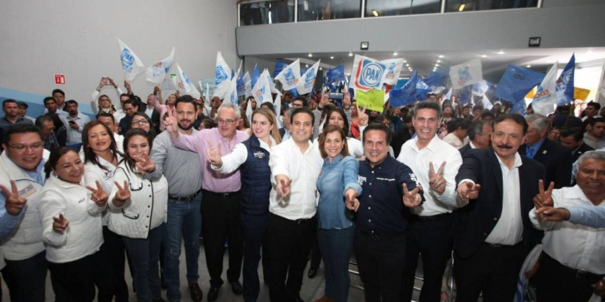 Damián Zepeda se reúne con candidatos federales panista deEdomex