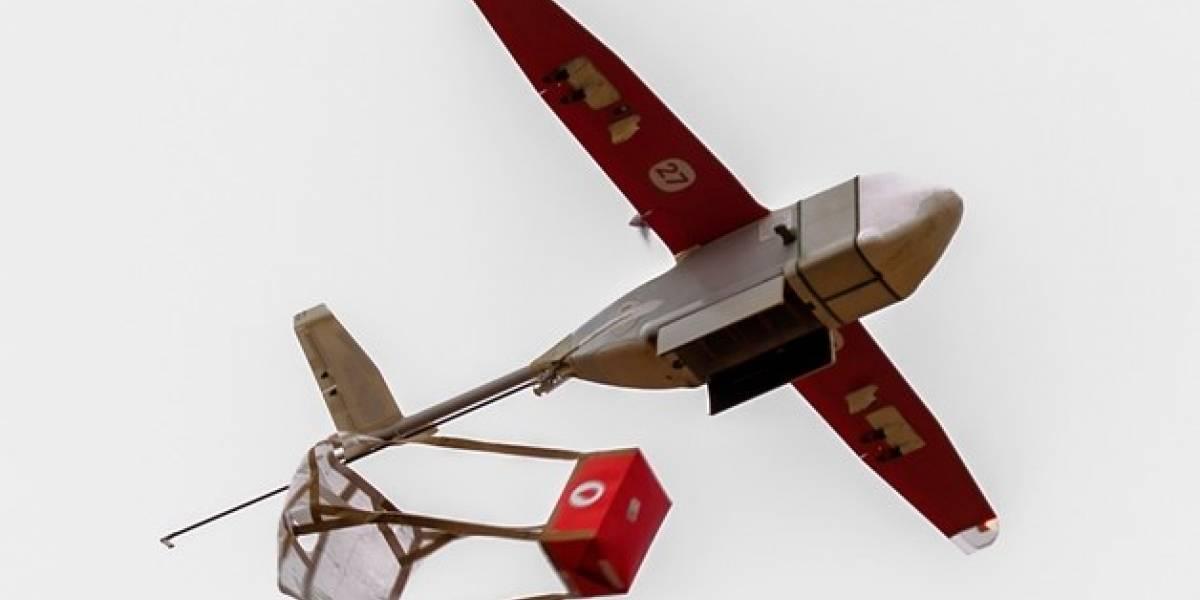 Esta empresa desarrolla drones que hacen entregas de bolsas de sangre en zonas apartadas de Ruanda