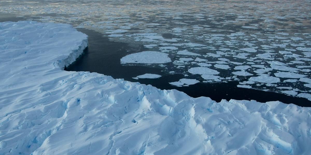 La Agencia Espacial Europea confirma alarmante deshielo suboceánico de la Antártica