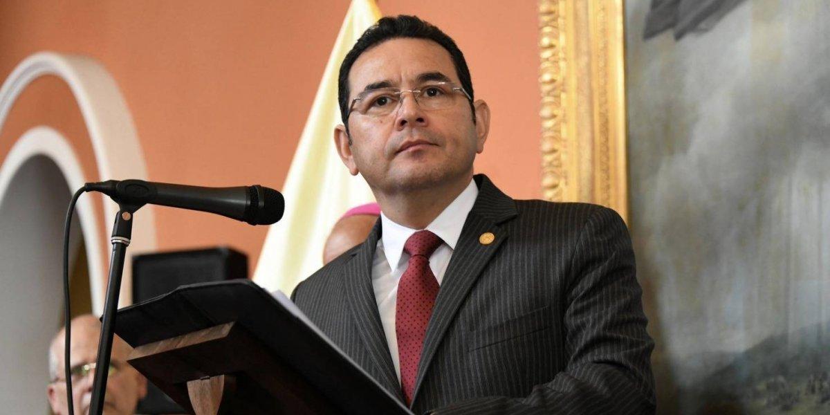 Presidente Jimmy Morales no asistirá a Cumbre de Las Américas, en Perú