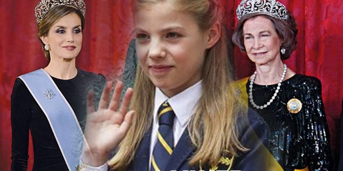 El encontronazo entre las reinas Sofía y Letizia tiene una culpable: la princesa Leonora