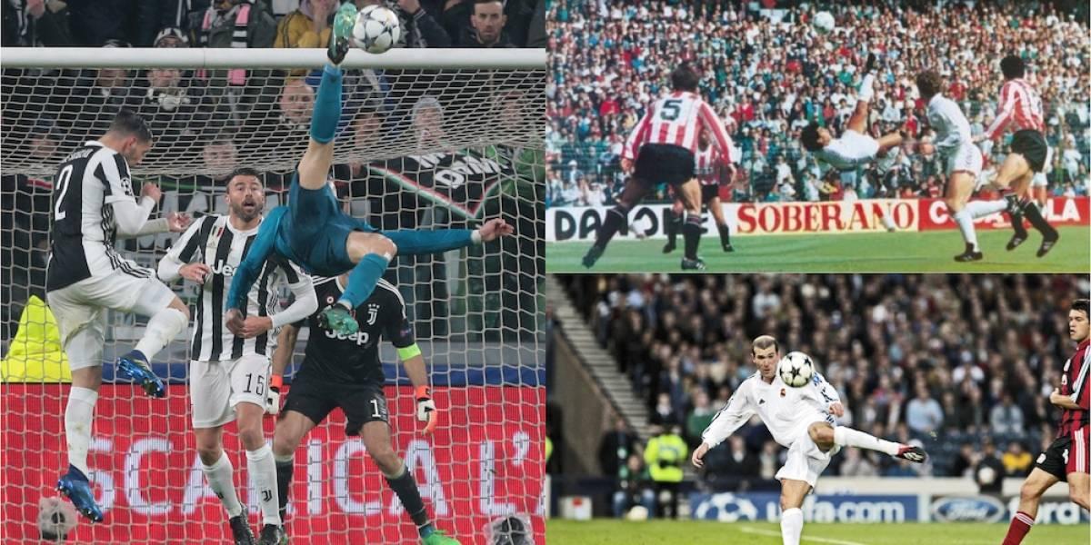 ¿Cuál es el gol más hermoso del Real Madrid?