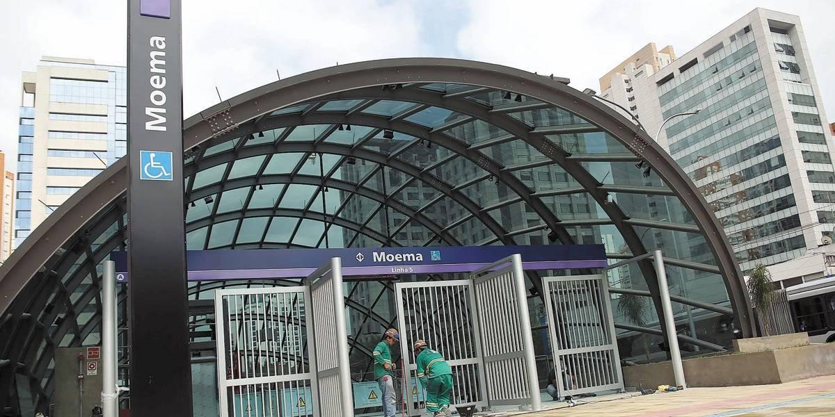'Maratona de inaugurações' em SP tem abertura da estação Moema do Metrô