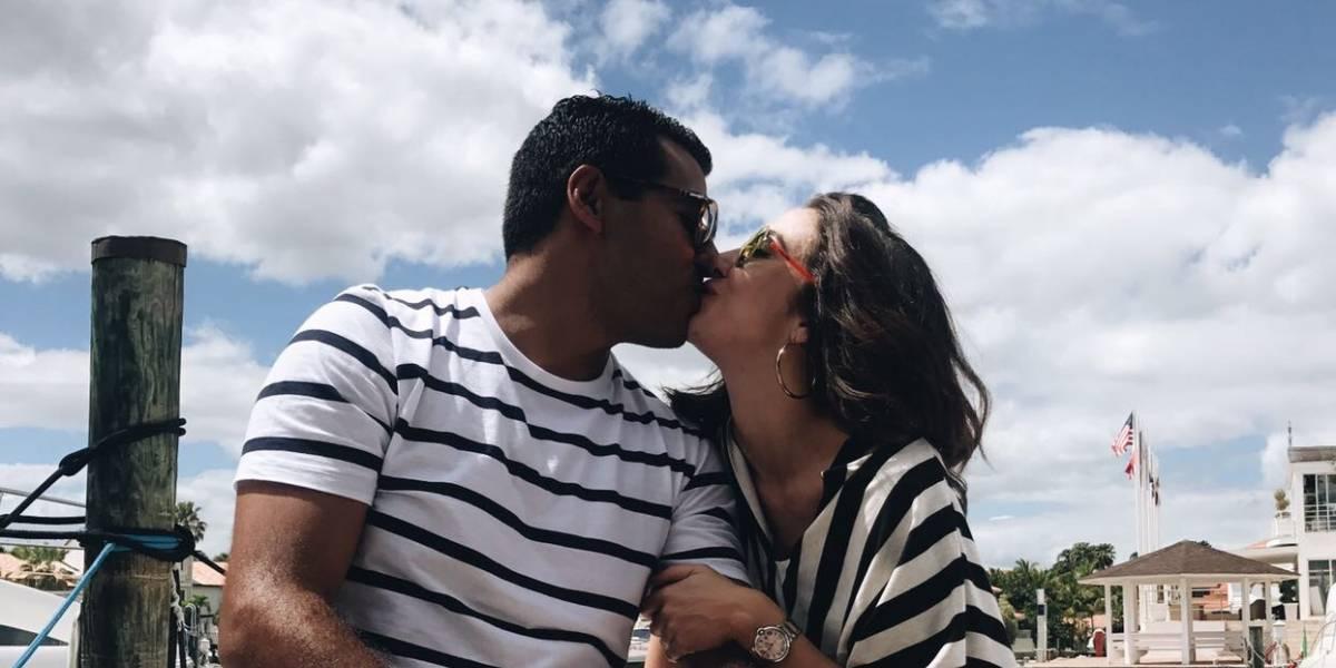 Gabi Desangles presenta a su nuevo amor