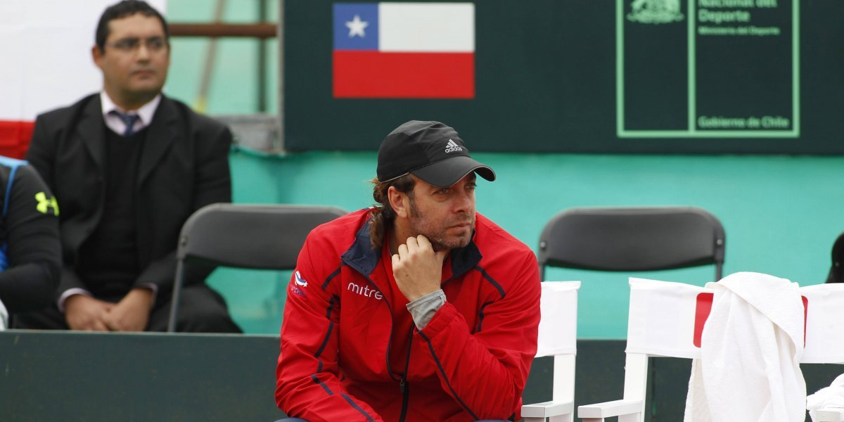 Massú confirmó los singlistas y doblistas que enfrentarán a Argentina en Copa Davis