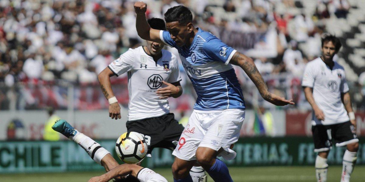"""Andrés Vilches se entusiasma en la UC y le mandó un recado a Colo Colo: """"Acá me siento valorado"""""""