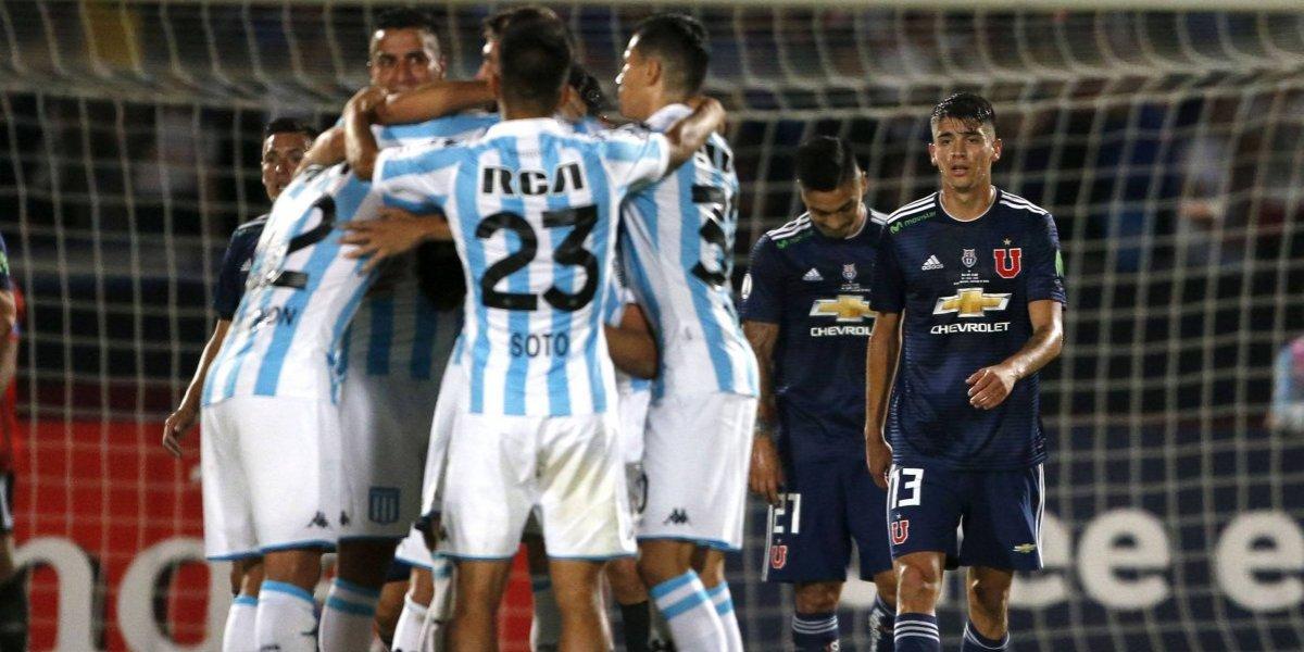 """Punto de oro: En Argentina se conformaron con el empate en """"clima de final"""" que obtuvo Racing ante la U"""