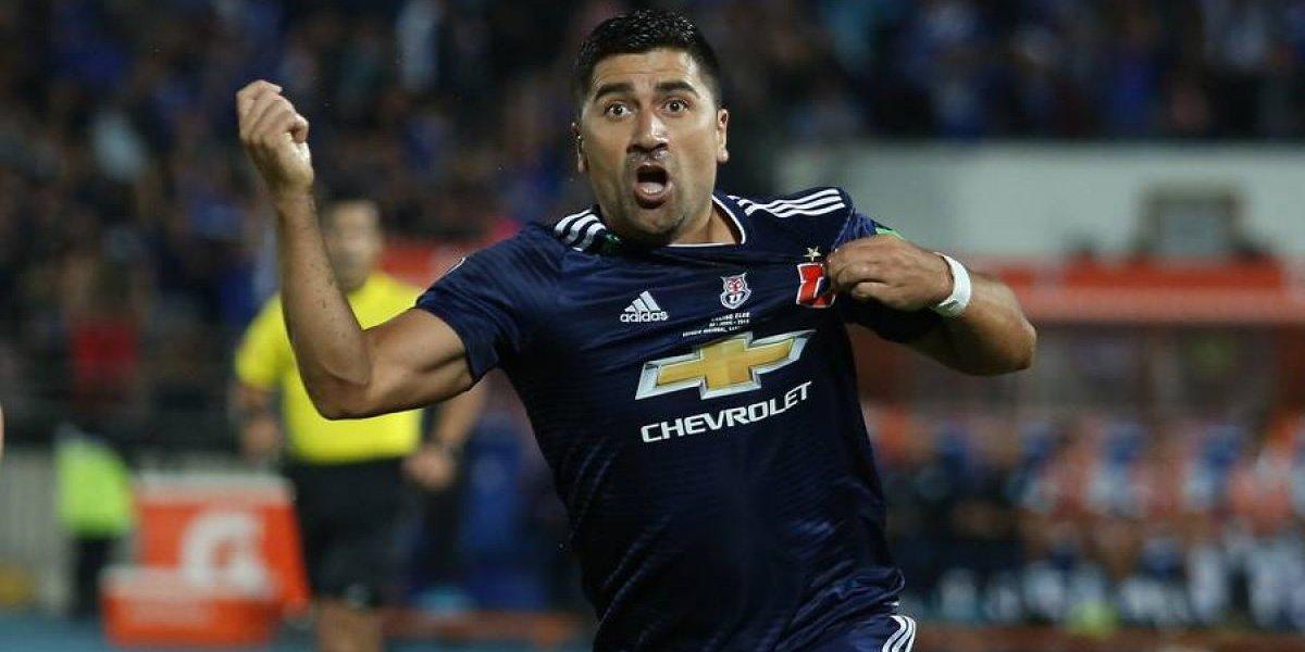 """Pizarro disfruta su momento en la U: """"Soy muy agradecido, puedo ejercer lo que más quiero"""""""