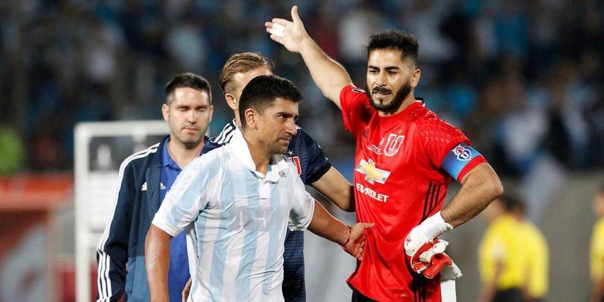 """Johnny Herrera muy crítico con la U: """"Regalamos el partido, eran tres puntos que en casa debíamos ganar"""""""