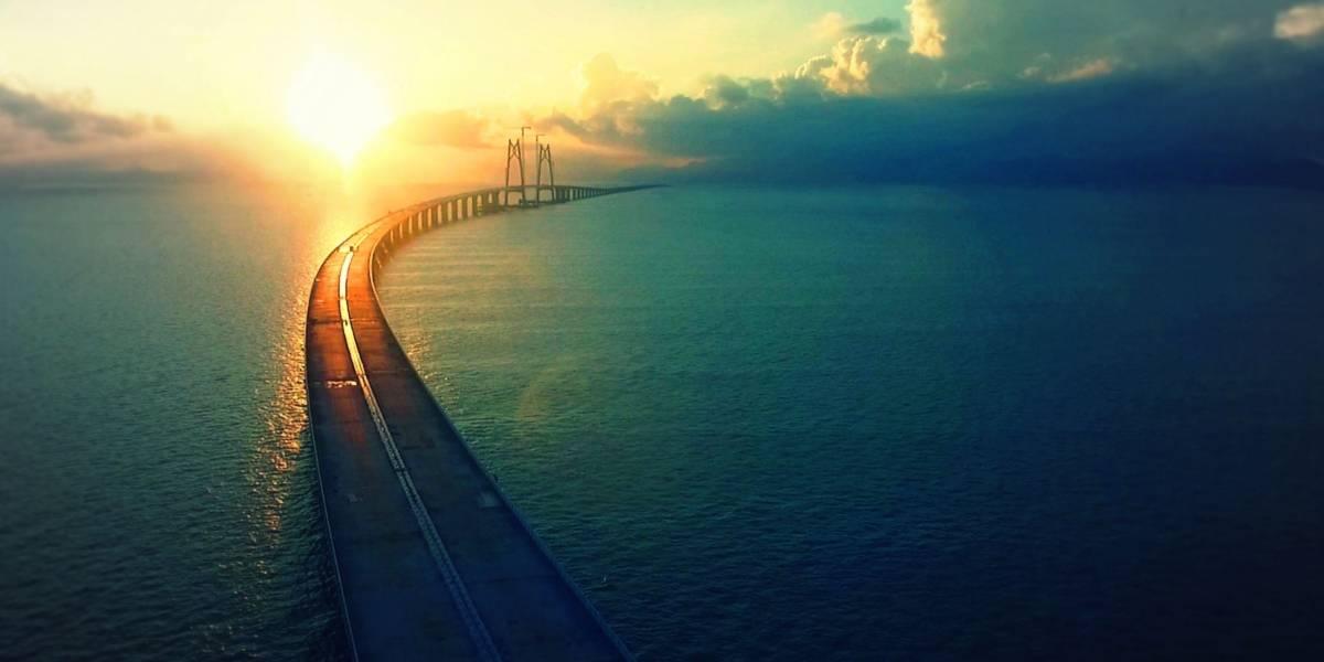El puente más largo del mundo sobre el mar se inaugurará pronto en China