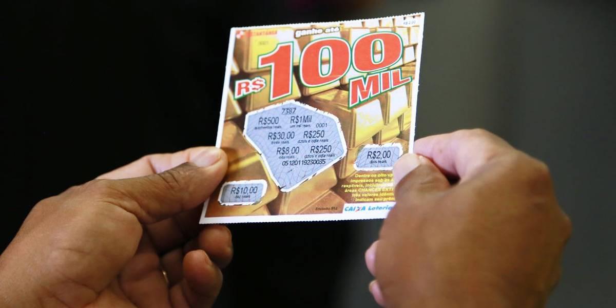 Governo federal regulamenta a 'raspadinha'
