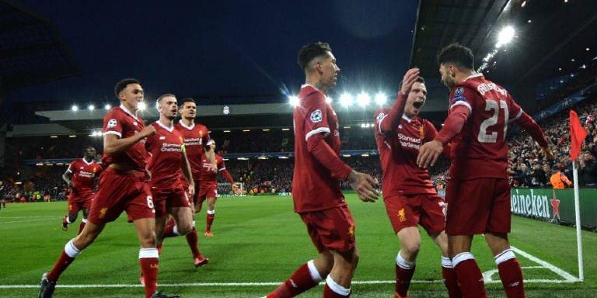 El Liverpool golea a un desconocido Manchester City y pone un pie en las semis