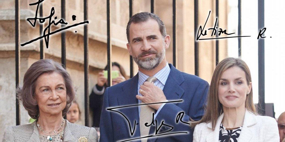 ¿Qué dicen las firmas de las reinas Sofía y Letizia sobre su personalidad?