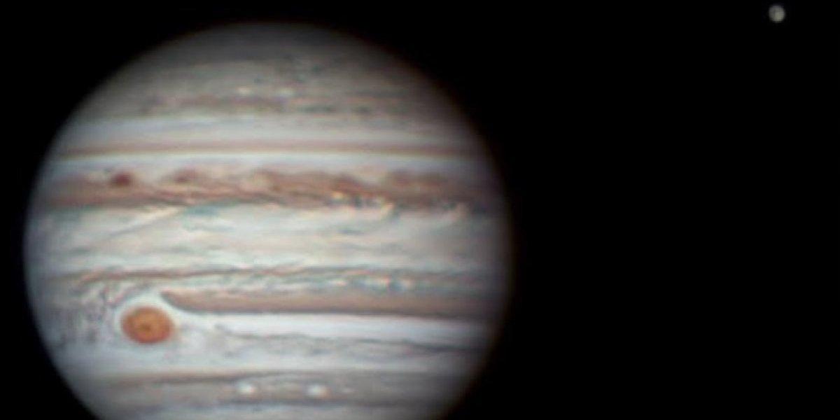Captan espectacular imagen de Júpiter desde P. R.
