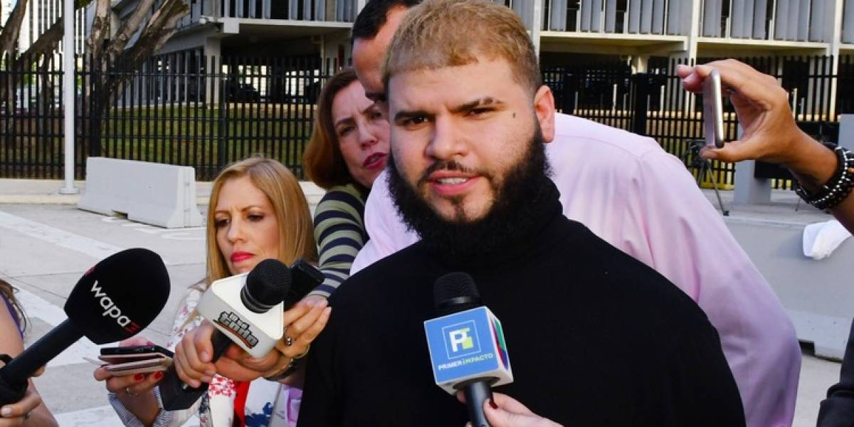 Farruko dice estaba cansado y deja en manos de sus abogados el caso