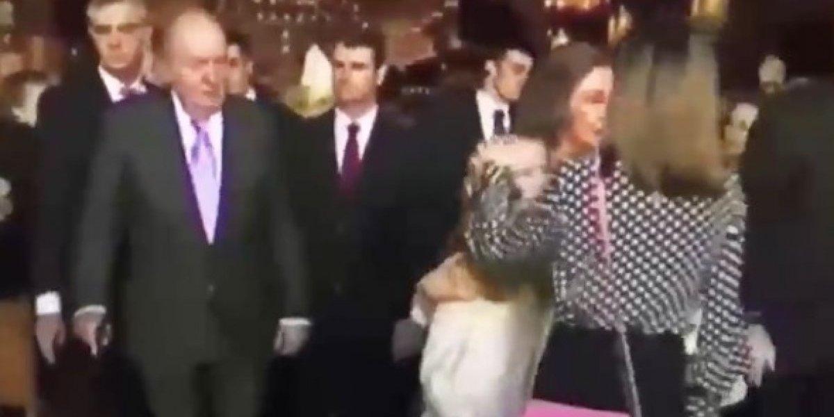 Dolida Letizia por video de su pelea con la Reina Sofía