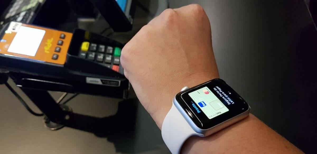 É possível fazer o pagamento também pelo Apple Watch Tercio David/Metro Jornal