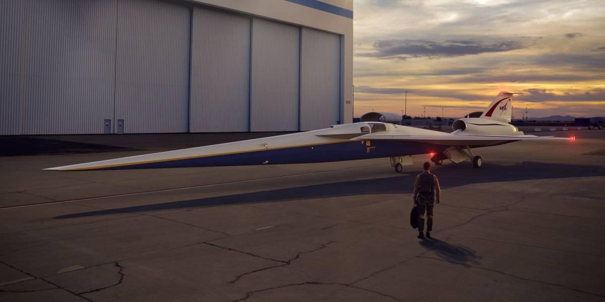 La NASA está construyendo el X-Plane: un avión supersónico para futuros vuelos comerciales