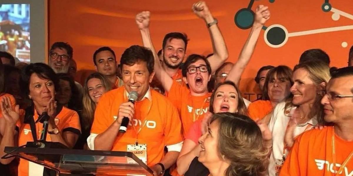 Amoêdo nega apoio ao PT em 2º turno e diz que avaliará respaldo a Bolsonaro