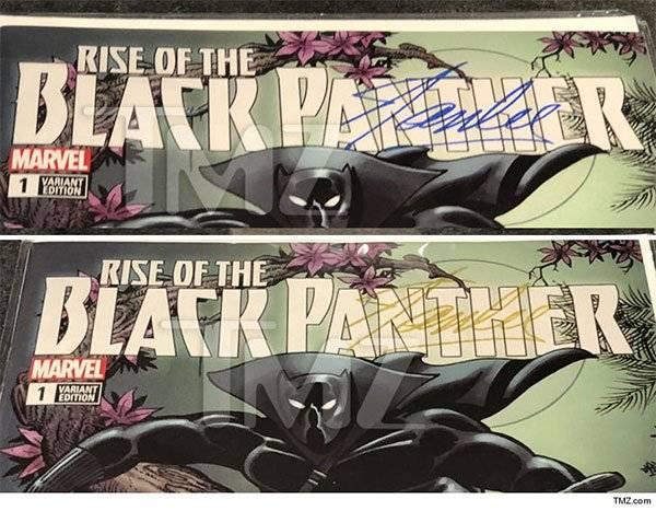 Venden cómics de 'Black Panther' con sangre de Stan Lee