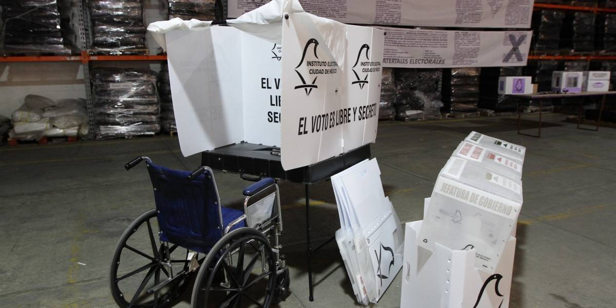 IECM colocará urnas especiales para voto de personas con discapacidad