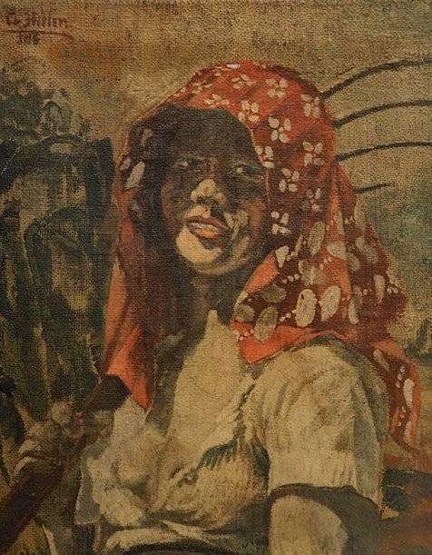 Esse seria o retrato da francesa Charlotte Lobjoie