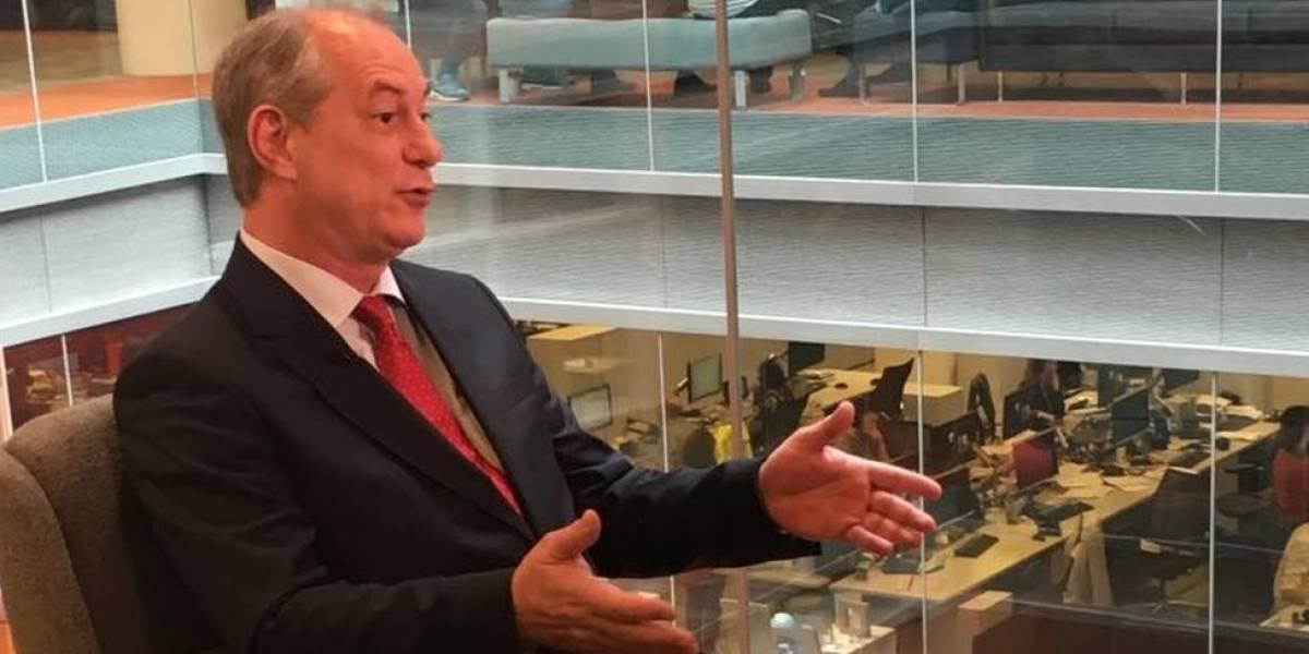 Ciro Gomes nega chapa com Haddad