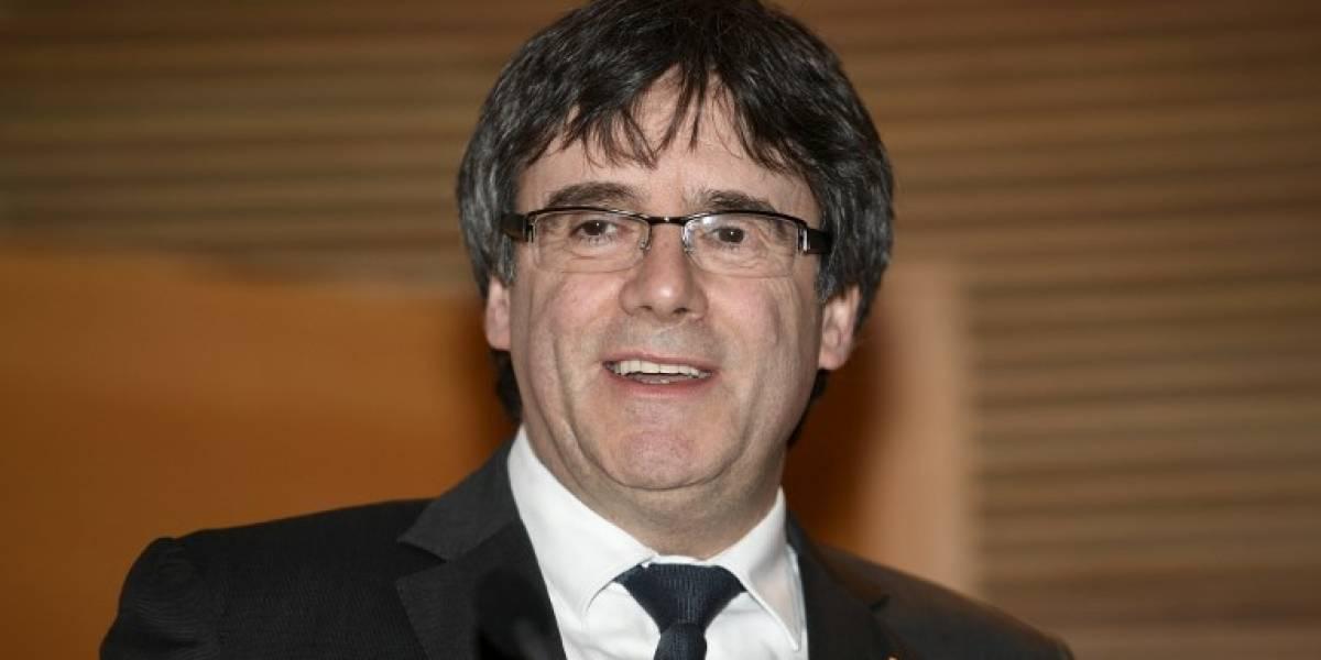 Alemania deja que Puigdemont salga en libertad bajo fianza