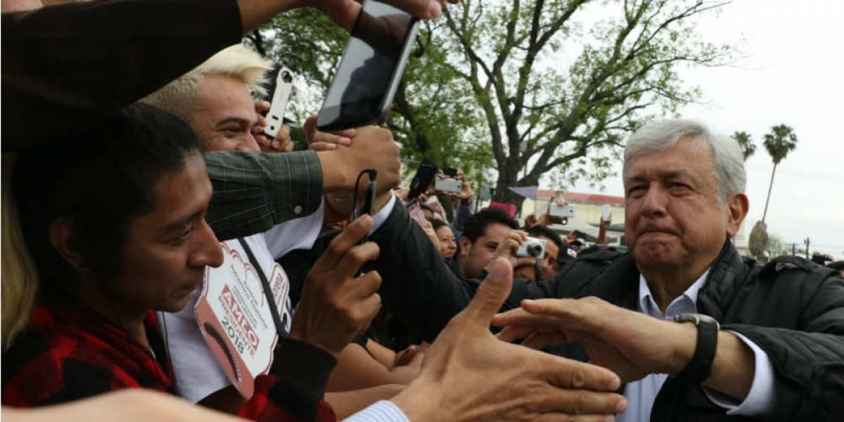 AMLO 'ataca' zona débil para Morena en primer suspiro de campaña