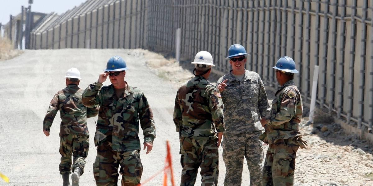 ¿Son del Ejército las tropas que enviará Trump a la frontera con México?