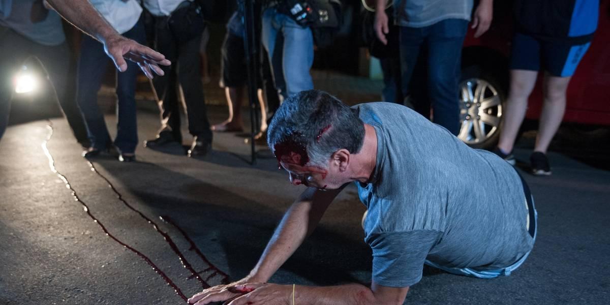 Manifestante é atropelado em discussão com aliados de Lula em SP