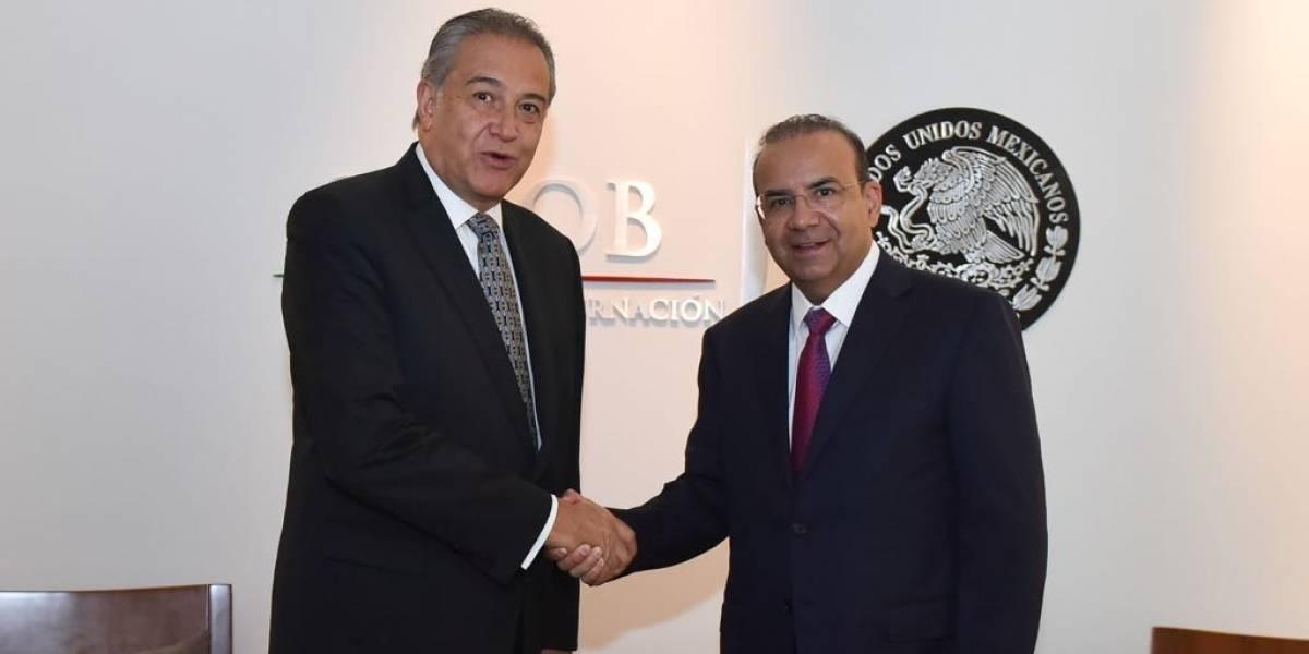 Navarrete y Naranjo dialogan sobre seguridad binacional entre México y Colombia