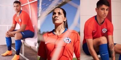 La nueva camiseta de la selección chilena / imagen: nike.com