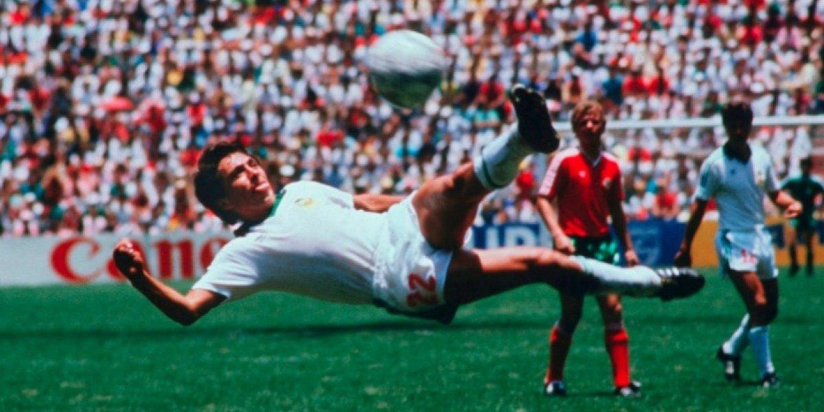 Manuel Negrete, en semifinales por el Mejor Gol de los Mundiales