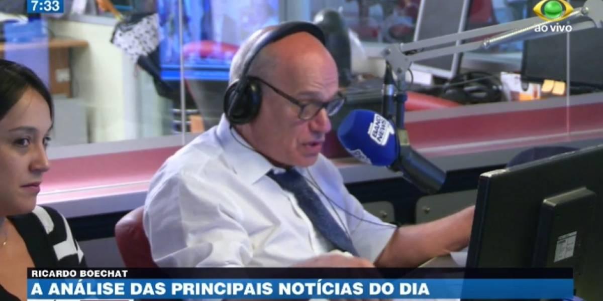 Boechat: Acho que Lula não ficará 12 anos preso