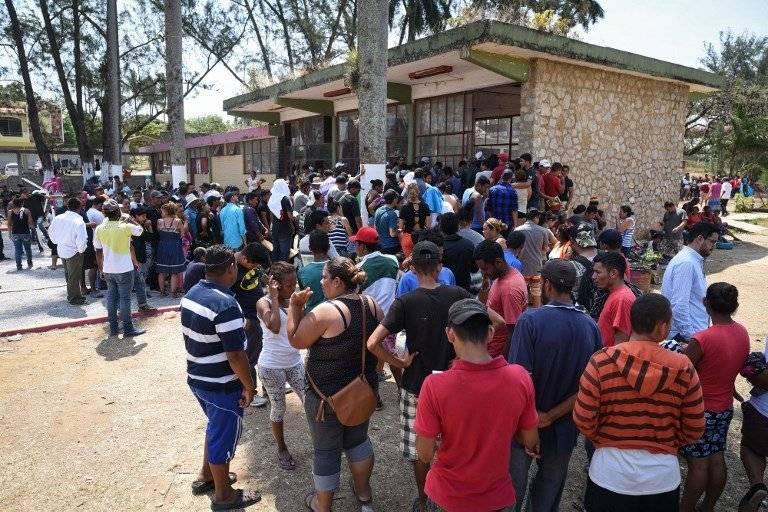 Caravana migrante en México
