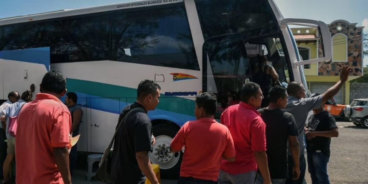 Caravana de migrantes empieza a disiparse en sur de México