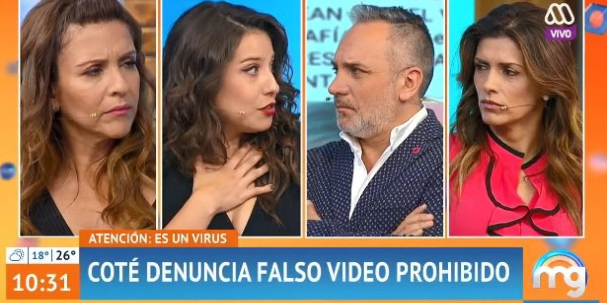 María José Quintanilla denuncia falso video sexual