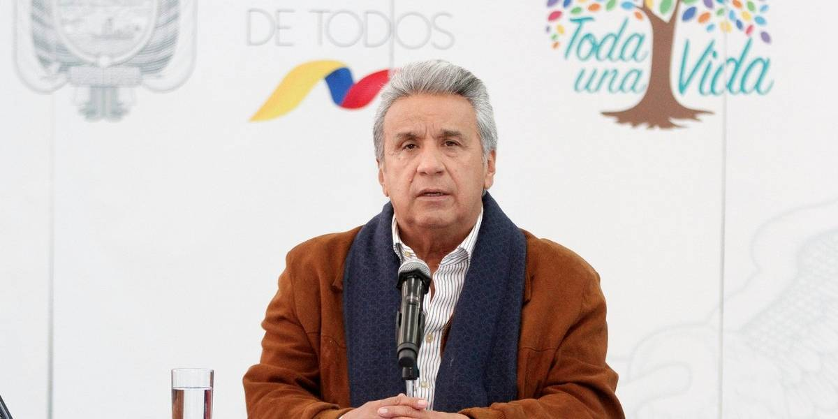 Lenin Moreno: 'Vamos a hacer que Efraín, Javier y Paúl regresen con vida'