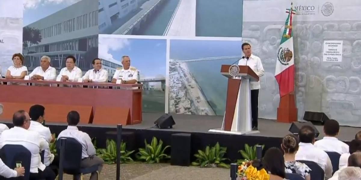 Zonas Económicas Especiales darán empleo a más de 500 mil mexicanos: Peña Nieto