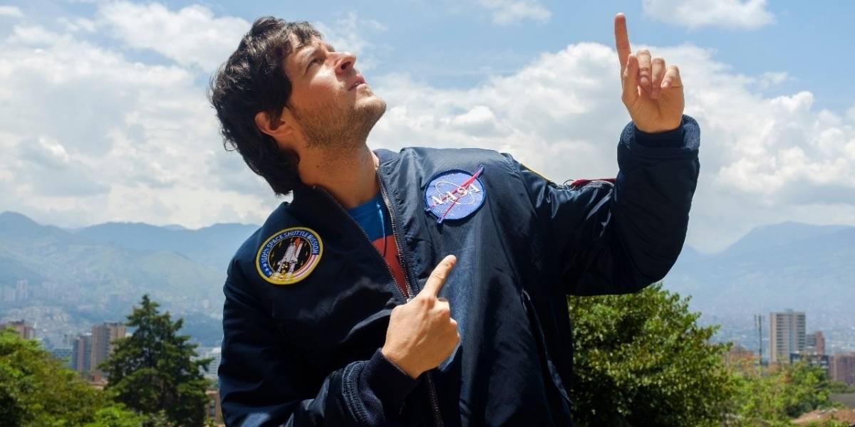 Daniel Tirado, el curioso explorador que cumplirá su sueño de viajar al espacio