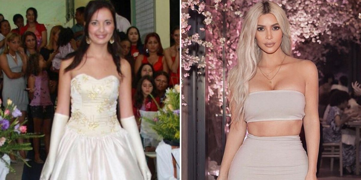 Brasileira gasta mais de meio milhão de dólares para ficar parecida com a Kim Kardashian