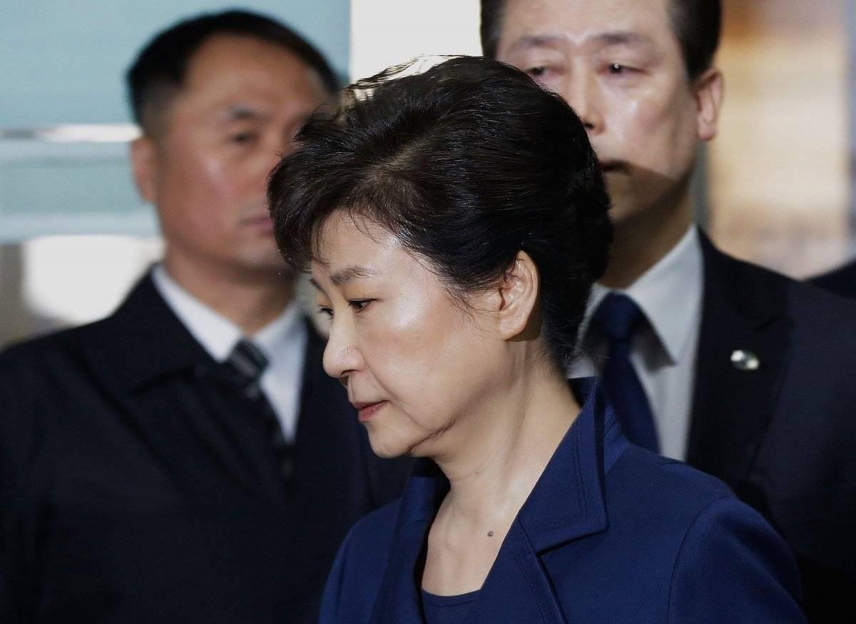 Park Geun-hye fue detenida el 30 de marzo de 2017.