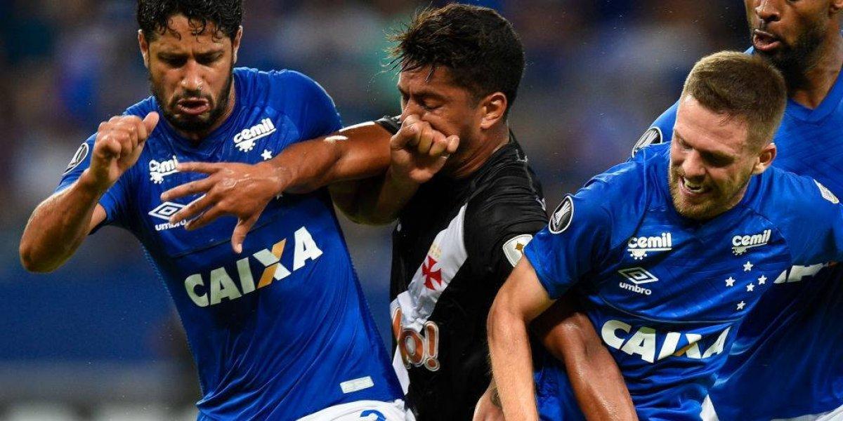 Cruzeiro y Vasco da Gama jugaron para la U en el Grupo de la Muerte de la Libertadores