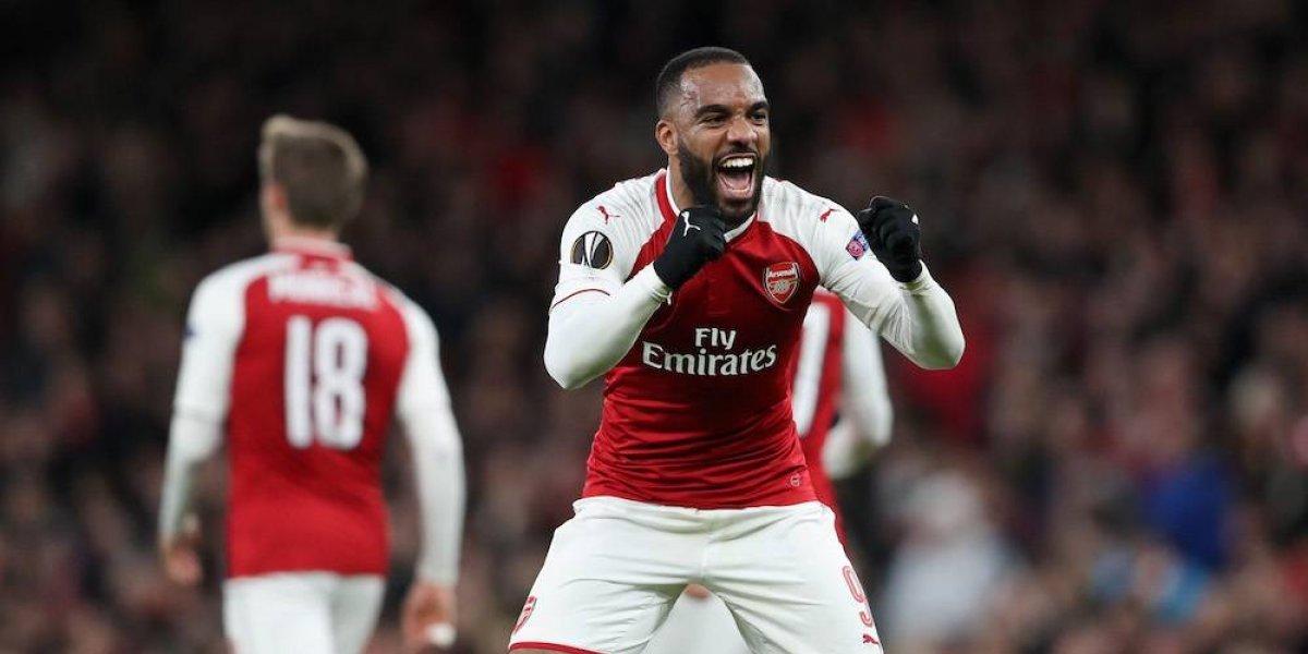 Arsenal se encamina a las semifinales de la Europa League
