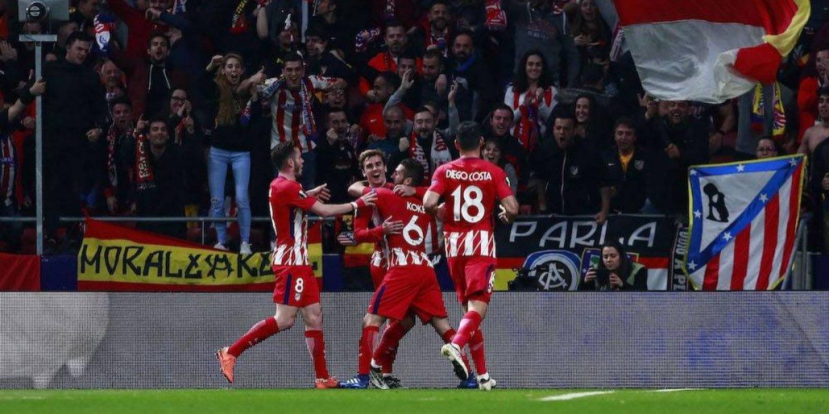 Atleti toma ventaja sobre el Sporting en la Europa League