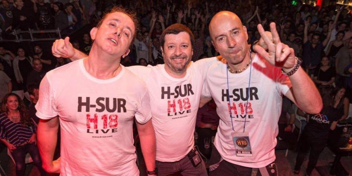 """H-Sur celebra dos décadas de carrera con """"A show of hand"""" en Amanda"""