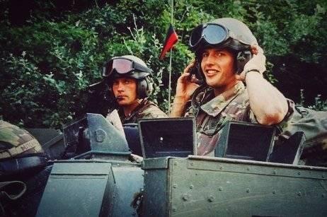 James Blunt militar