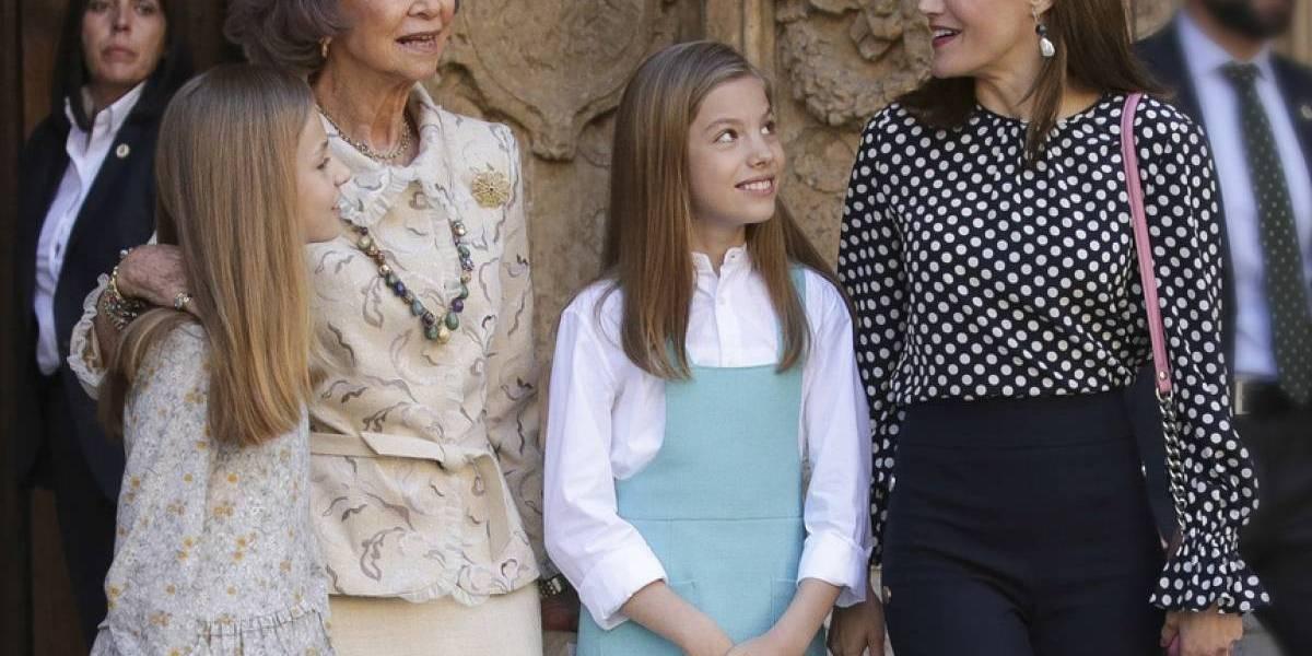 Reina Letizia ha llegado a hostigar a sus hijas por su excesivo control