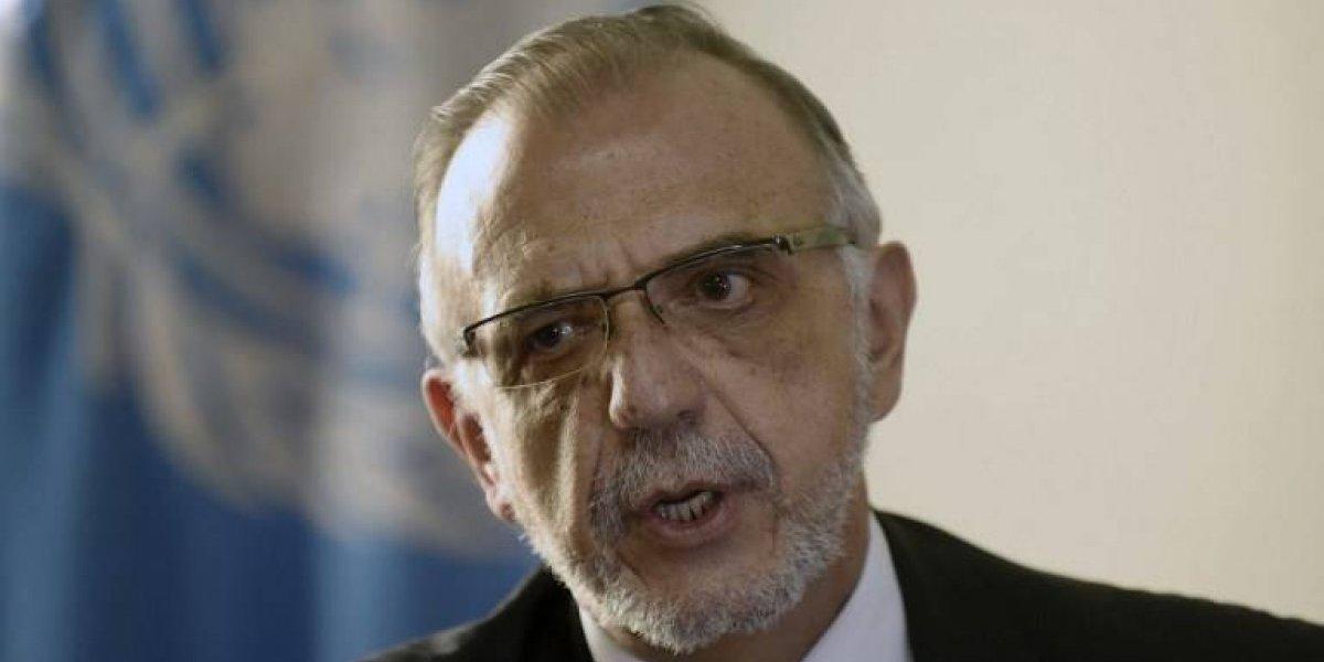 Guatemala no renovará la visa de Iván Velásquez y su comisión